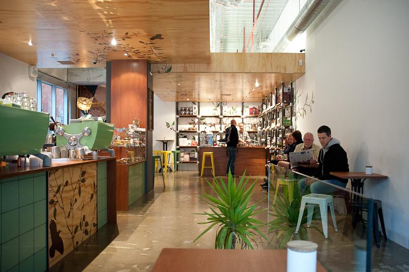 League of Honest Coffee, Exploration Lane Melbourne