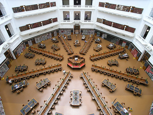 State Library Charlie Brewer flickr