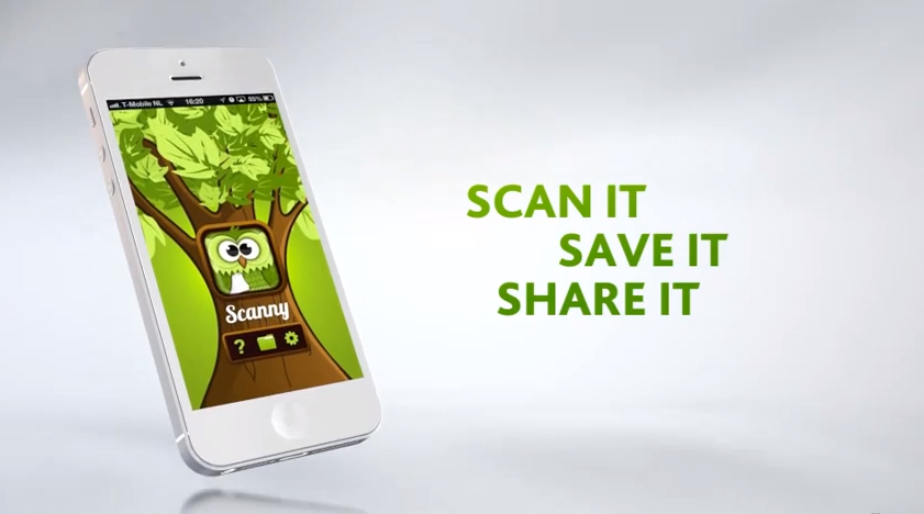 Scanny – Scan it, Save it, Share it
